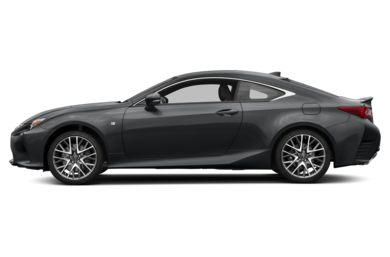 90 Degree Profile 2018 Lexus RC 300
