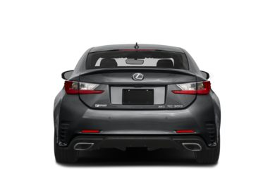 Rear Profile  2018 Lexus RC 300