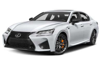 3/4 Front Glamour 2018 Lexus GS F