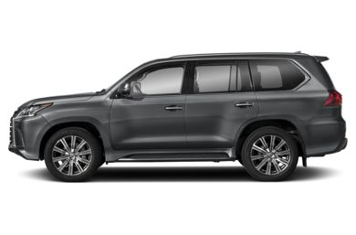 90 Degree Profile 2016 Lexus LX 570