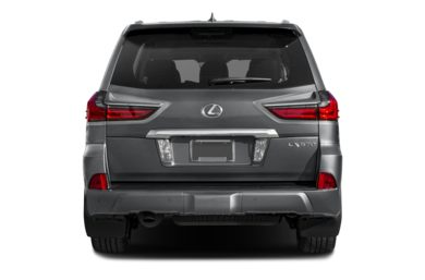 Rear Profile  2017 Lexus LX 570
