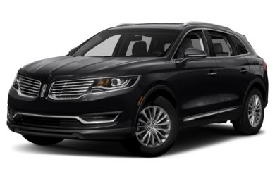 3/4 Front Glamour 2016 Lincoln MKX