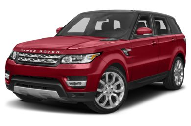 3/4 Front Glamour 2017 Land Rover Range Rover Sport