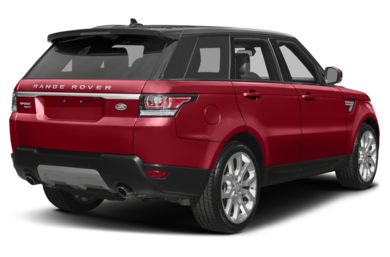 3/4 Rear Glamour  2017 Land Rover Range Rover Sport