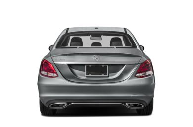 Rear Profile  2018 Mercedes-Benz C-Class