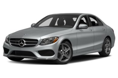 3/4 Front Glamour 2017 Mercedes-Benz C300