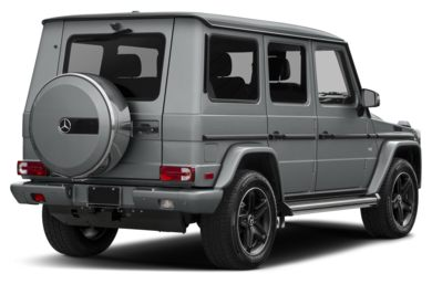 3/4 Rear Glamour  2017 Mercedes-Benz G550