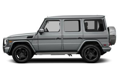 90 Degree Profile 2017 Mercedes-Benz G550