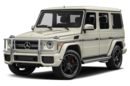 3/4 Front Glamour 2016 Mercedes-Benz G63 AMG