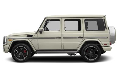 90 Degree Profile 2017 Mercedes-Benz G63 AMG