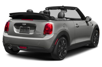 3/4 Rear Glamour  2018 MINI Convertible