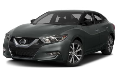 3/4 Front Glamour 2017 Nissan Maxima
