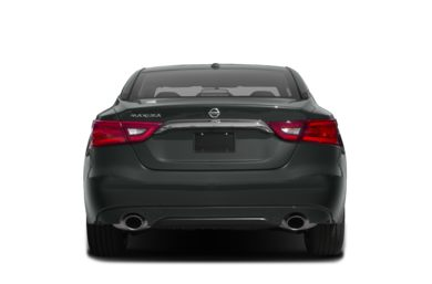 Rear Profile  2017 Nissan Maxima