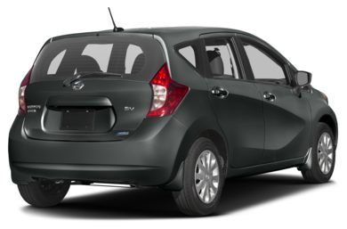 3/4 Rear Glamour  2016 Nissan Versa Note