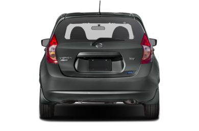 Rear Profile  2016 Nissan Versa Note