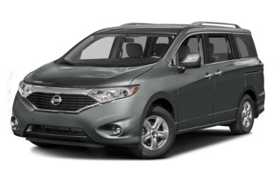 3/4 Front Glamour 2016 Nissan Quest