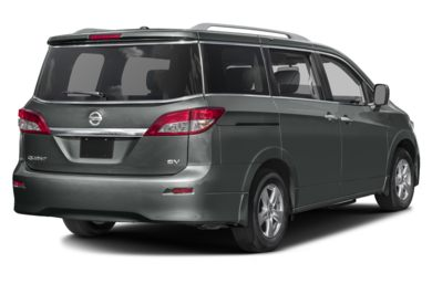 3/4 Rear Glamour  2016 Nissan Quest