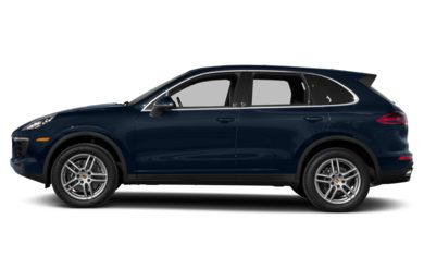 90 Degree Profile 2018 Porsche Cayenne