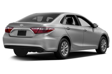 3/4 Rear Glamour  2017 Toyota Camry