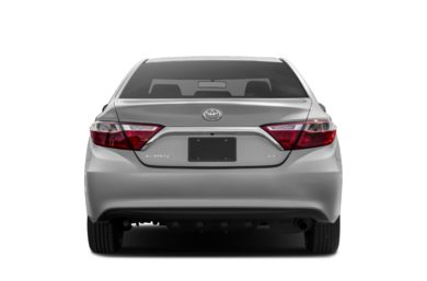 Rear Profile  2017 Toyota Camry