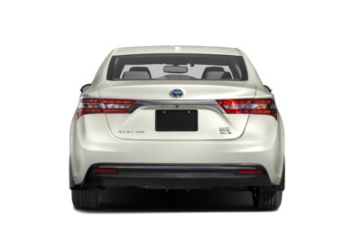 Rear Profile  2017 Toyota Avalon Hybrid