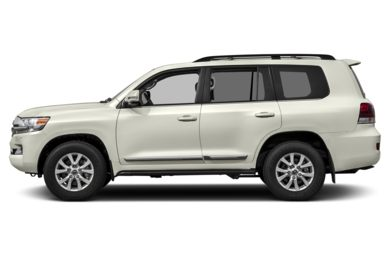 90 Degree Profile 2017 Toyota Land Cruiser
