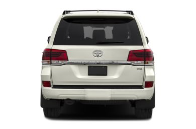 Rear Profile  2017 Toyota Land Cruiser