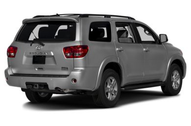 3/4 Rear Glamour  2017 Toyota Sequoia