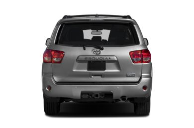Rear Profile  2017 Toyota Sequoia
