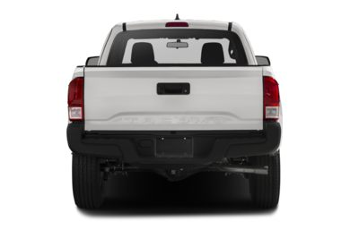 Rear Profile  2017 Toyota Tacoma