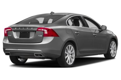 3/4 Rear Glamour  2017 Volvo S60 Inscription