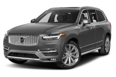 3/4 Front Glamour 2016 Volvo XC90