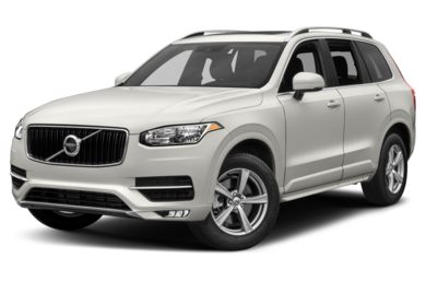 3/4 Front Glamour 2017 Volvo XC90
