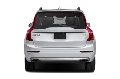 Rear Profile  2017 Volvo XC90 Hybrid