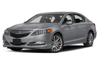 3/4 Front Glamour 2017 Acura RLX