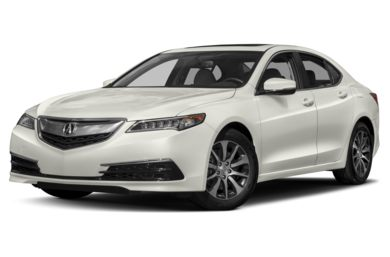 3/4 Front Glamour 2017 Acura TLX