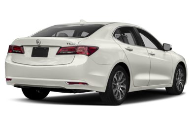 3/4 Rear Glamour  2017 Acura TLX
