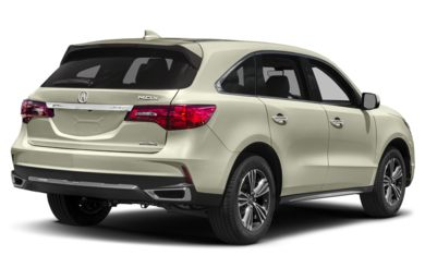 3/4 Rear Glamour  2017 Acura MDX