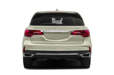 Rear Profile  2017 Acura MDX