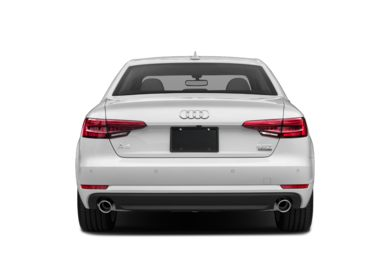 Rear Profile  2018 Audi A4