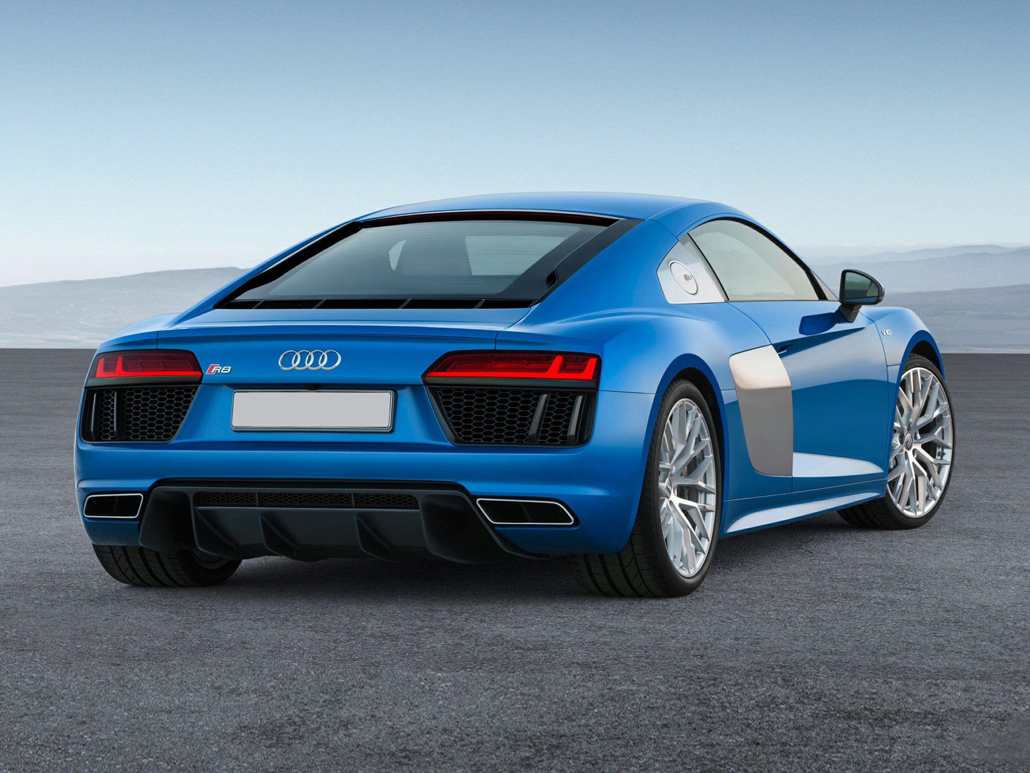 Audi R8 Rear Quarter