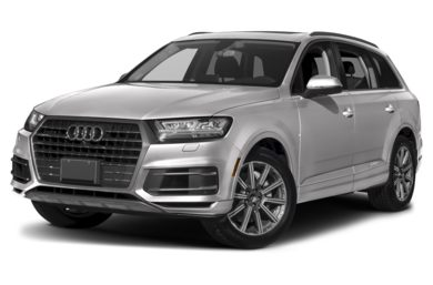 3/4 Front Glamour 2018 Audi Q7