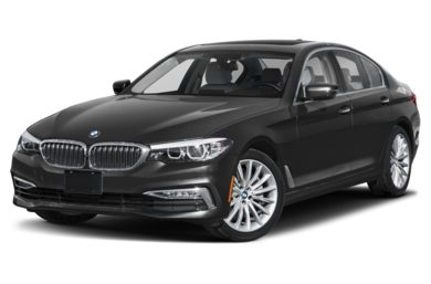 3/4 Front Glamour 2018 BMW 5-Series