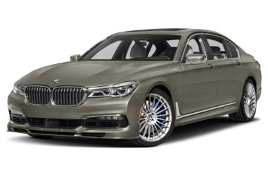 3/4 Front Glamour 2017 BMW ALPINA B7