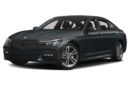 3/4 Front Glamour 2018 BMW 740e