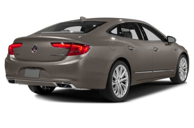 3/4 Rear Glamour  2017 Buick LaCrosse