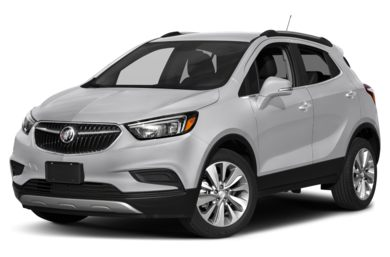 3/4 Front Glamour 2017 Buick Encore