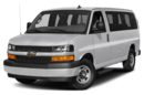3/4 Front Glamour 2018 Chevrolet Express 2500