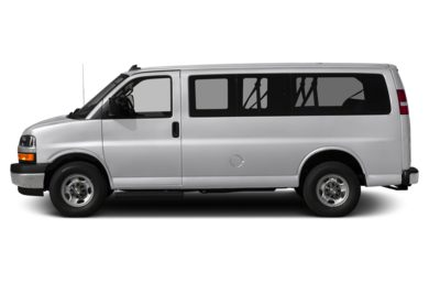 90 Degree Profile 2018 Chevrolet Express 3500