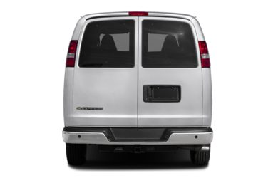 Rear Profile  2018 Chevrolet Express 3500